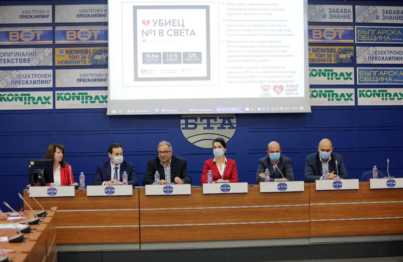В България рискът от смърт от сърдечно-съдово заболяване е два пъти по-висок, отколкото в Европа